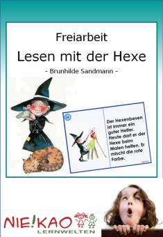 Freiarbeit - Lesen mit der Hexe