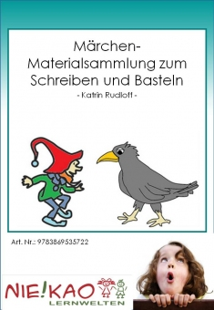 Märchen- Materialsammlung zum Schreiben und Basteln Einzel-CD