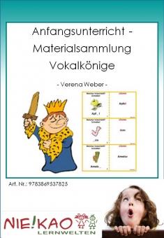 Anfangsunterricht - Materialsammlung Vokalkönige Einzel-CD