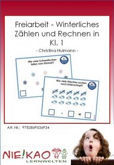 Freiarbeit - Winterliches Zählen und Rechnen in Kl. 1 Einzel-CD