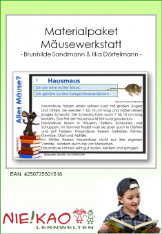 Materialpaket - Mäusewerkstatt