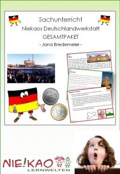 Differenzierter Sachunterricht - Niekaos Deutschlandwerkstatt Gesamtpaket