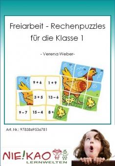 Freiarbeit - Rechenpuzzles für die Klasse 1 Einzel-CD