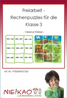 Freiarbeit - Rechenpuzzles für die Klasse 3