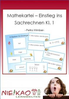 Mathekartei - Einstieg ins Sachrechnen Kl. 1 download