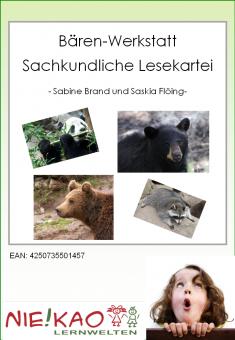 Die Bären-Werkstatt - eine sachunterrichtliche Lesekartei Einzel-CD