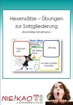 Hexensätze - Übungen zur Satzgliederung download