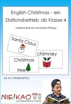 English Christmas - ein Stationsbetrieb ab Klasse 4