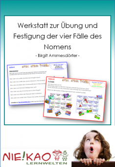 Werkstatt zur Übung und Festigung der vier Fälle des Nomens - Neuauflage Einzel-CD