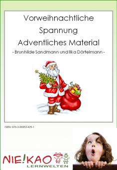 Vorweihnachtliche Spannung - adventliches Material