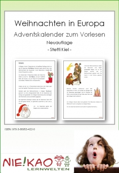 Weihnachten in Europa - Adventskalender zum Vorlesen - Neuauflage