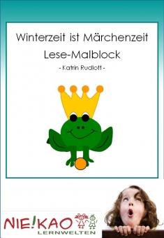 Winterzeit ist Märchenzeit - Lese-Malblock