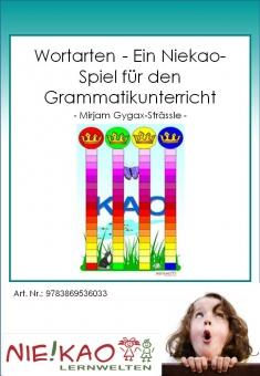 Wortarten - Ein Niekao-Spiel für den Grammatikunterricht
