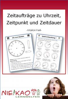 Zeitaufträge zu Uhrzeit, Zeitpunkt und Zeitdauer