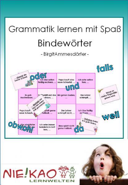Grammatik lernen mit Spaß - Bindewörter