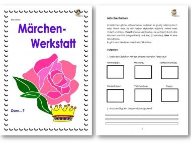 Unterrichtsmaterial Ubungsblatter Fur Die Grundschule Marchen