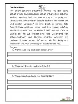 Unterrichtsmaterial, Übungsblätter für die Grundschule | Üben zu ...