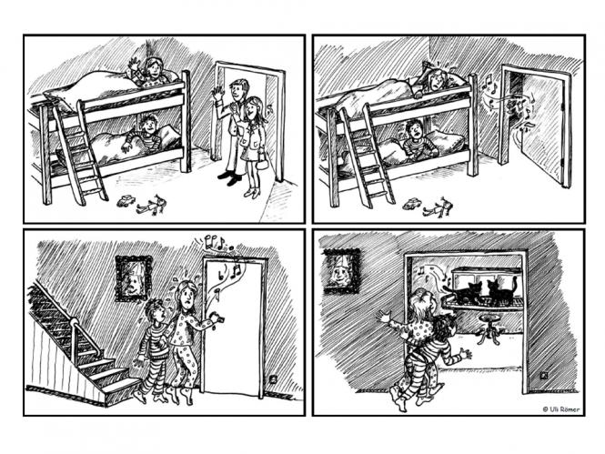 unterrichtsmaterial bungsbl tter f r die grundschule aufsatzerziehung 4 bildergeschichte. Black Bedroom Furniture Sets. Home Design Ideas