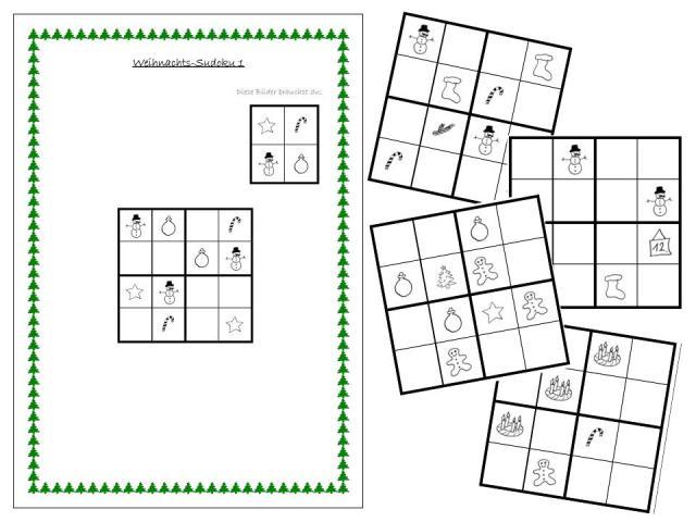 sudoku 2 klasse