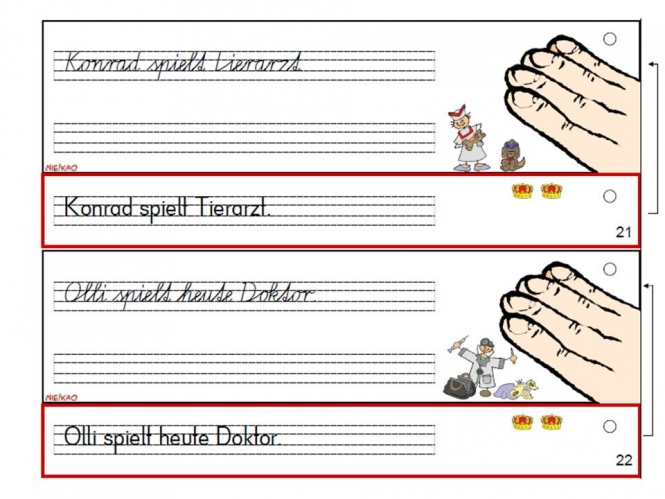 Unterrichtsmaterial, u00dcbungsblu00e4tter fu00fcr die Grundschule : Schreibschriftfu00e4cher - Vereinfachte ...