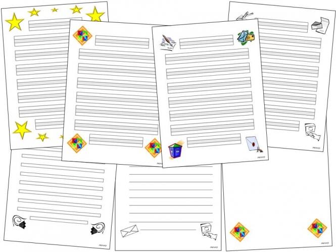 Briefe Schreiben Unterrichtsmaterial : Unterrichtsmaterial Übungsblätter für die grundschule