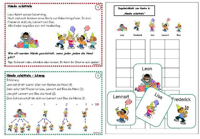 Mathematik 1 Klasse  bei Schlaukopfde