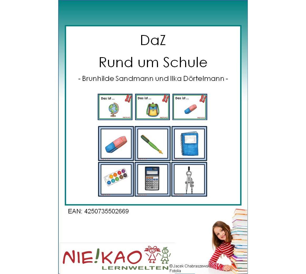 Unterrichtsmaterial, u00dcbungsblu00e4tter fu00fcr die Grundschule : DaZ - Rund um Schule : online bestellen ...