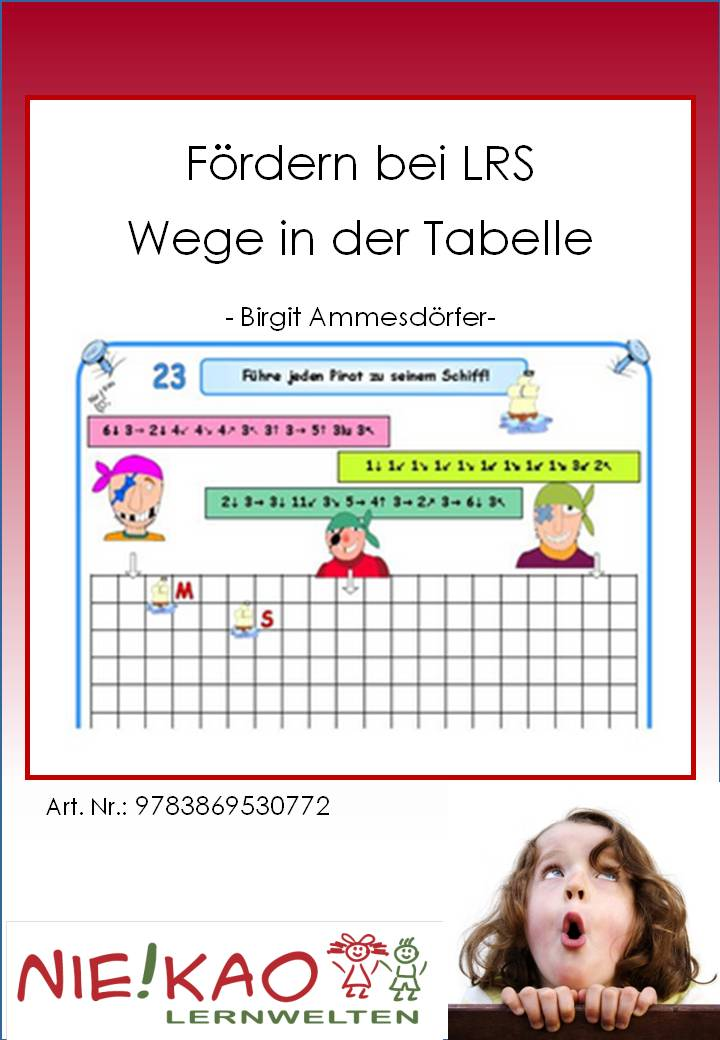 Unterrichtsmaterial, u00dcbungsblu00e4tter fu00fcr die Grundschule : Fu00f6rdern bei LRS - Wege in der Tabelle ...