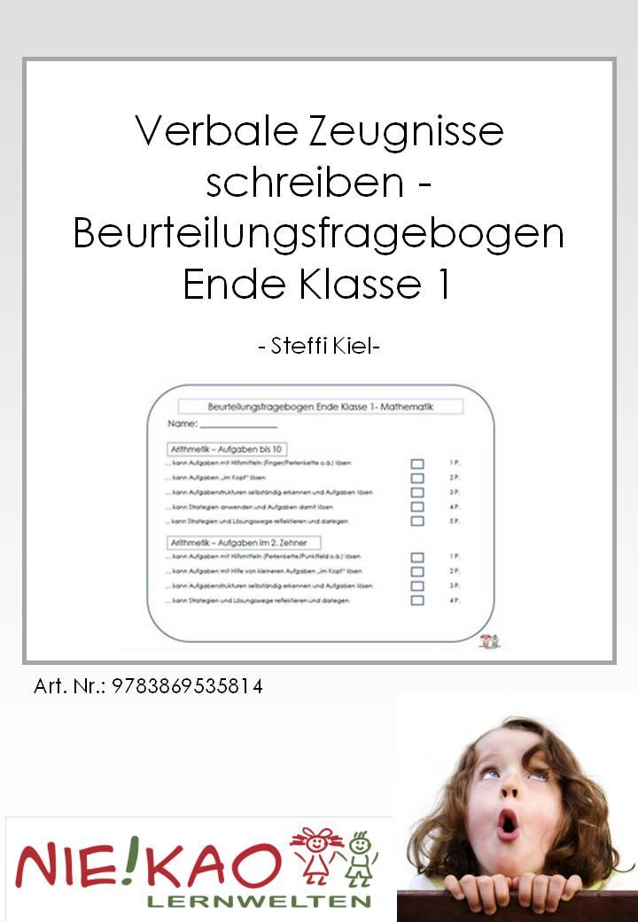 Unterrichtsmaterial, u00dcbungsblu00e4tter fu00fcr die Grundschule : Verbale Zeugnisse schreiben ...