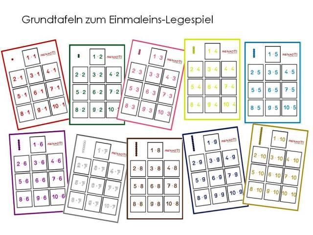 Einmaleins spiele grundschule