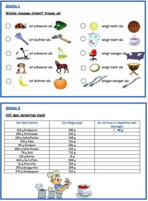 Mathe 3 Klasse Kostenlose Arbeitsblätter
