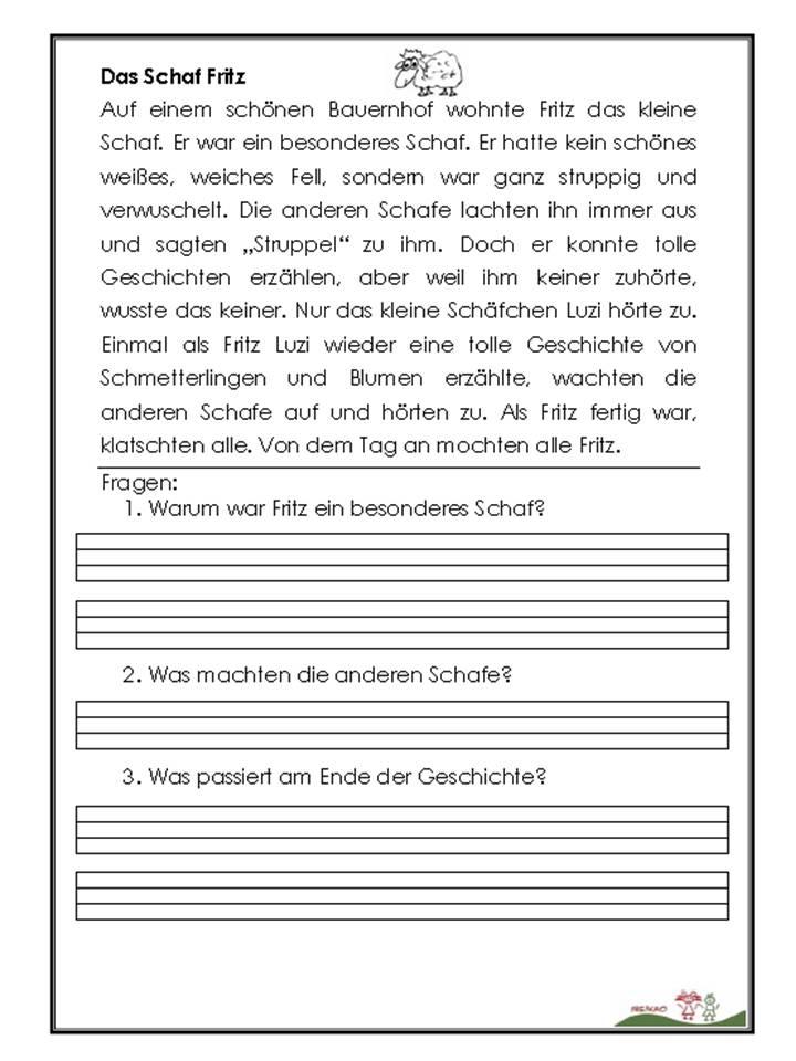 Ubungsaufgaben Deutsch 4 Klasse