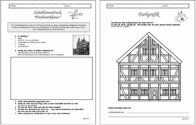 Unterrichtsmaterial bungsbl tter f r die grundschule for Fachwerk pdf