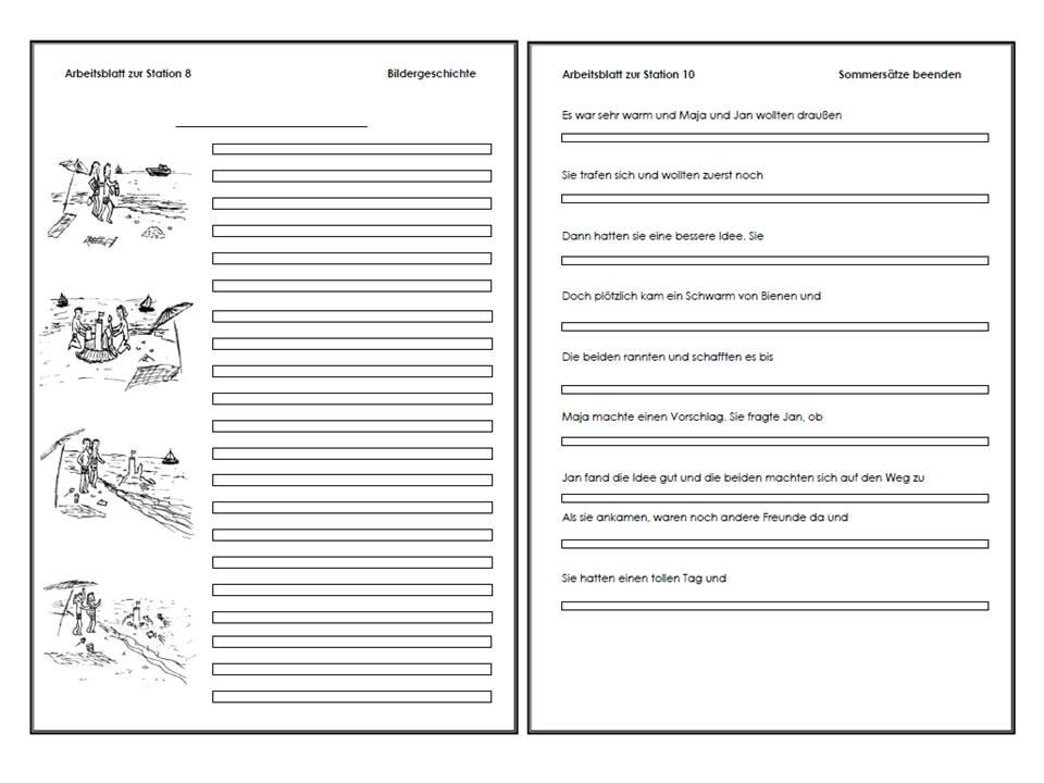 unterrichtsmaterial bungsbl tter f r die grundschule werkstatt kreatives schreiben zur. Black Bedroom Furniture Sets. Home Design Ideas