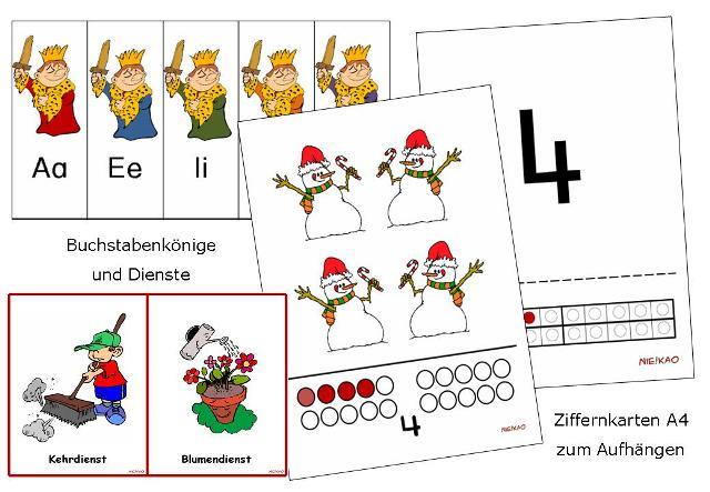 Unterrichtsmaterial, u00dcbungsblu00e4tter fu00fcr die Grundschule : Materialpaket u0026quot;Klassenraumgestaltung ...