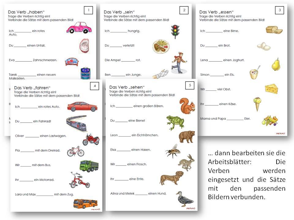 Grundschule Deutsch Grammatik - arbeitsbl228tter 183 grundschule 183 ...