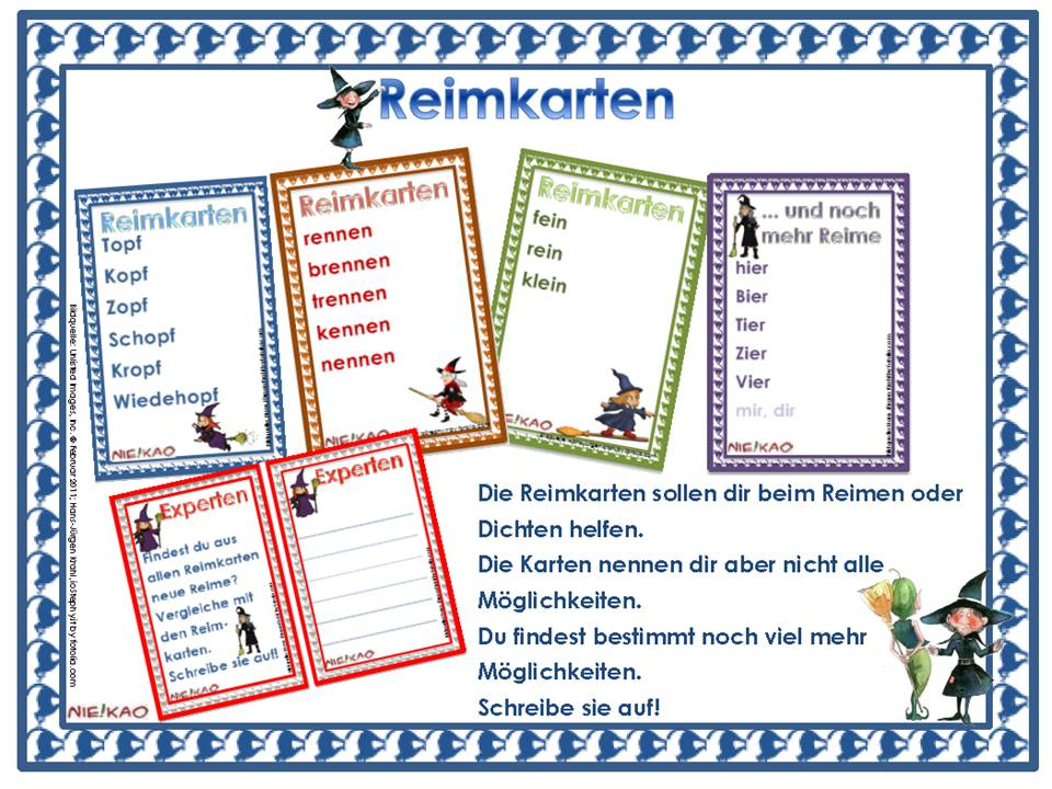 unterrichtsmaterial, Übungsblätter für die grundschule | lesen mit