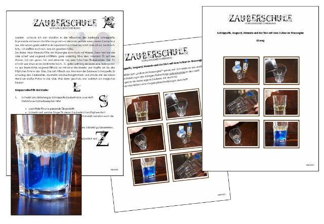 arbeitsblatt vorschule 187 vorgangsbeschreibung 4 klasse